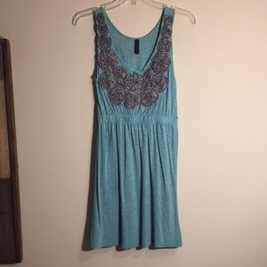 Small Teal Women's Dress